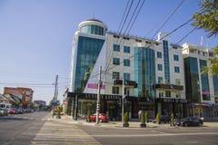 Lyxig byggnad i Krasnodar Royaltyfri Bild