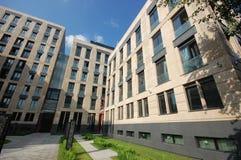 Lyxig byggnad i moscow Arkivbild