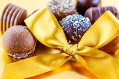 Lyxig choklad Arkivfoto