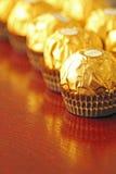 Lyxig choklad Arkivbild