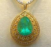 Lyxig diamanthänge Royaltyfri Fotografi
