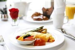 Lyxig frukostomelett 02 arkivfoto