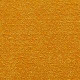 Lyxig guld- färgtorkduketextur Royaltyfri Fotografi