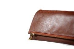 lyxig handväskaplånbok för damtoalett arkivbilder
