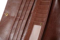 lyxig handväskaplånbok för damtoalett royaltyfri bild