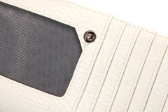 lyxig handväskaplånbok för damtoalett arkivbild