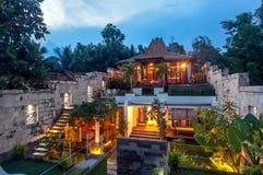 Lyxig java villa Royaltyfri Foto