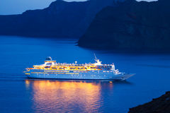Lyxig kryssningShip Royaltyfria Bilder