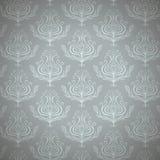 Lyxig kunglig blommatappningbakgrund Royaltyfri Fotografi