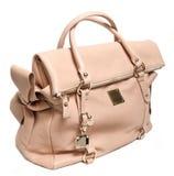 Lyxig kvinnlig handväska. royaltyfri bild