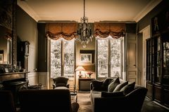 Lyxig lägenhet royaltyfri foto