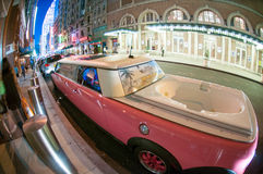 lyxig limousine Arkivbild