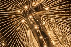 Lyxig ljuskronaljusmodell Royaltyfria Foton