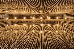 Lyxig ljuskronaljusmodell Arkivfoton