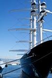 lyxig marinayacht Royaltyfri Bild