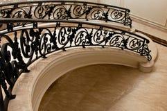 lyxig marmortrappa Royaltyfri Foto