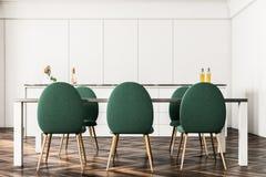 Lyxig matsalinre, gräsplanstolframdel Arkivfoton