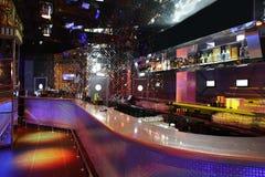 Lyxig nattklubb i europeisk stil Royaltyfri Fotografi