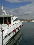 lyxig privat yacht Royaltyfria Bilder
