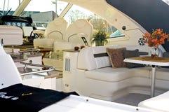 lyxig privat yacht 2 Arkivfoto