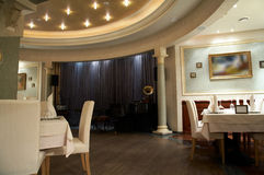 Lyxig restaurang Royaltyfri Foto