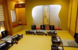 Lyxig restaurang i Akita, Japan Arkivbild