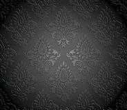 Lyxig seamless vektorwallpaper Royaltyfri Fotografi