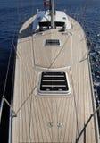 lyxig segelbåt Royaltyfri Fotografi