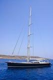 Lyxig segelbåt Arkivfoton