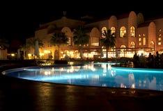 lyxig semesterort för hotell Royaltyfria Foton