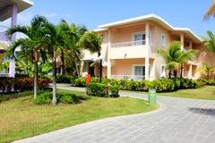 lyxig semesterort för karibisk ferie Arkivbild