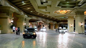 Lyxig semesterort för Mandalay fjärd och kasino, Las Vegas remsa, USA, lager videofilmer