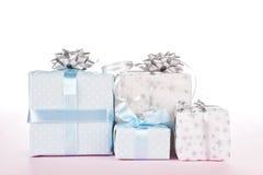 lyxig set för gåva Royaltyfri Fotografi