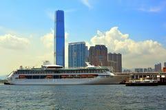 lyxig ship för kryssning Royaltyfri Fotografi