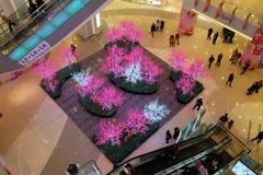 Lyxig shoppinggalleria i Peking Arkivfoto