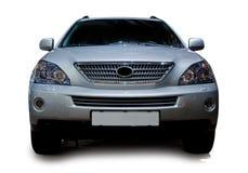 lyxig silver för bil arkivbild