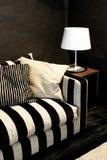 lyxig sofa Arkivfoto