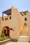 lyxig stilvilla för arabiskt hotell royaltyfri bild