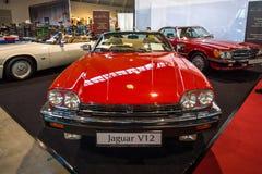 Lyxig storslagen Tourerbil Jaguar XJ-S V12, 1990 Royaltyfri Foto