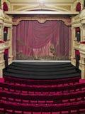 lyxig teater för korridor Arkivbilder