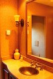 lyxig toalett Arkivfoto
