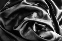 Lyxig torkduk för abstrakt bakgrund eller krabba veck av siden- textur s Royaltyfria Foton