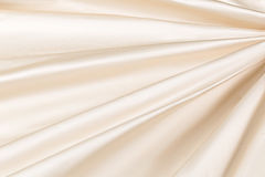 Lyxig torkduk för gul bakgrund eller krabba veck av för textursatäng för grunge siden- sammet Royaltyfri Bild