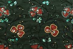 Lyxig torkduk för mångfärgad bakgrund eller krabba veck av siden- textursatäng för grunge Arkivfoton