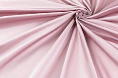 Lyxig torkduk för rosa bakgrund eller krabba veck av för textursatäng för grunge siden- sammet Royaltyfria Foton