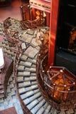 lyxig trappuppgång Arkivbilder
