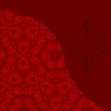 Lyxig vektorkortinbjudan Royaltyfri Bild
