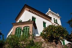lyxig villa Royaltyfri Fotografi