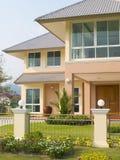 lyxig villa Royaltyfri Foto