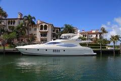lyxig yacht Royaltyfri Foto